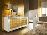 Золотистый цвет стен 19