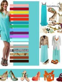 С чем сочетается мятный цвет в одежде4