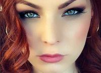 макияж глаз мэрилин керро