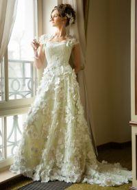 платье из цветов1