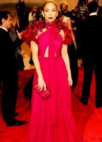 платье из цветов10