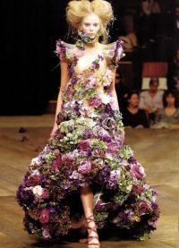 платье из цветов4