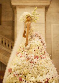 платье из цветов5