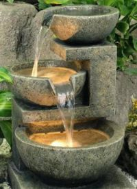 Декоративный фонтан для квартиры1