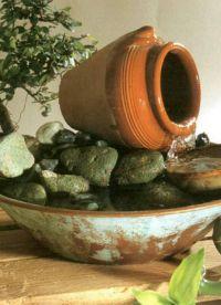Декоративный фонтан для квартиры2
