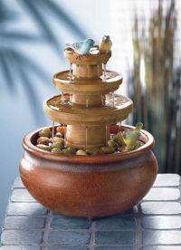 Декоративный фонтан для квартиры5