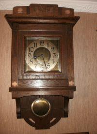 Настенные часы из дерева2