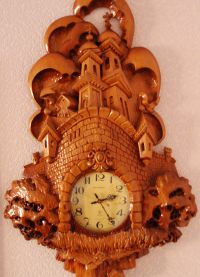 Настенные часы из дерева4