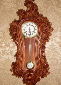 Настенные часы из дерева6