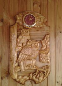 Настенные часы из дерева7