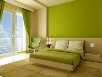 Оливковый цвет стен 3