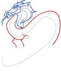 как нарисовать дракона 36