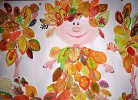 осень рисунки детей красками 2