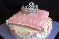 Мастер класс корона на торт из мастики 8