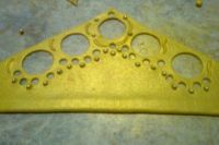 как сделать золотую корону из мастики 5