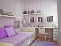 Сиреневый цвет стен 5