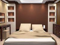 Шоколадный цвет стен 9
