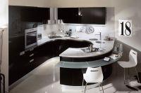 Дизайн кухни в стиле модерн 3