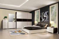 Дизайн спальни в стиле модерн 1