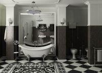 Квартира в черно белом стиле 2