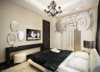 Квартира в черно белом стиле 3