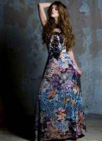Красивые длинные платья 5