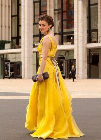 Красивые длинные платья 8