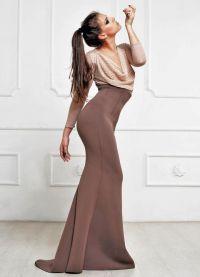Красивые длинные платья 9
