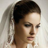 Простые свадебные прически