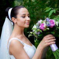 Простые свадебные прически 3