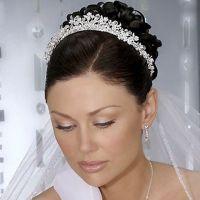 Простые свадебные прически 4