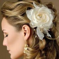 Простые свадебные прически 5