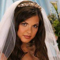 Простые свадебные прически 7