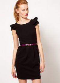 Короткое прямое платье 1