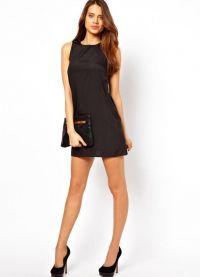 Короткое прямое платье 2