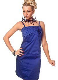 Короткое прямое платье 4