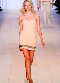 Короткое прямое платье 7