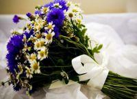 Свадебный букет из ромашек 4