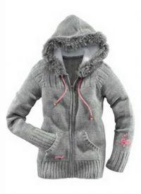 Вязаная куртка 9