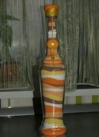декорирование бутылок своими руками 21