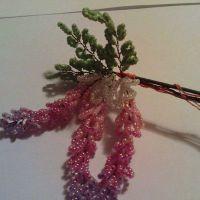 дерево из бисера глициния 17