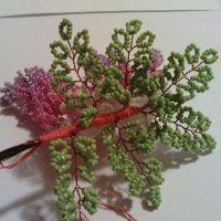 дерево из бисера глициния 18