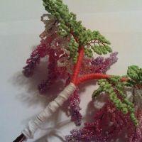 дерево из бисера глициния 19