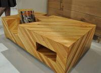 деревянные журнальные столики 5