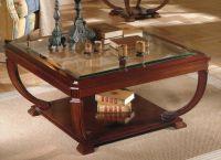 деревянные журнальные столики 2