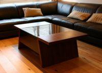 деревянные журнальные столики 6