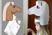 как сделать маску из бумаги_3