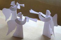 как сделать ангела из бумаги13