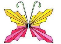 как сделать бабочку из бумаги 6