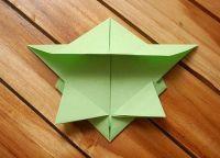 как сделать черепаху из бумаги 12